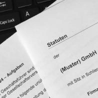 Firmengründung Statuten